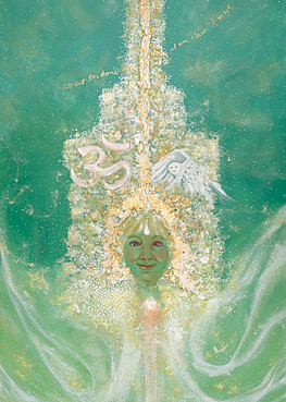 Ascension oil painting by Joyce Huntington