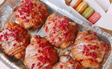 [法國巴黎-必吃甜點]Croissant Ispahan 玫瑰可頌 『Pierre Hermé』 比 Ladurée馬卡龍更加夢幻迷人的甜點專賣店 ♥ 小Connie愛夢遊。遊記食記