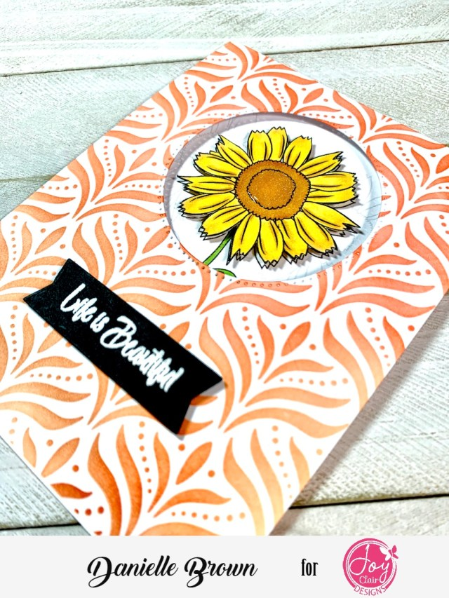 Wish Big, Blessed and Beautiful Stamp Sets from Joy Clair Designs