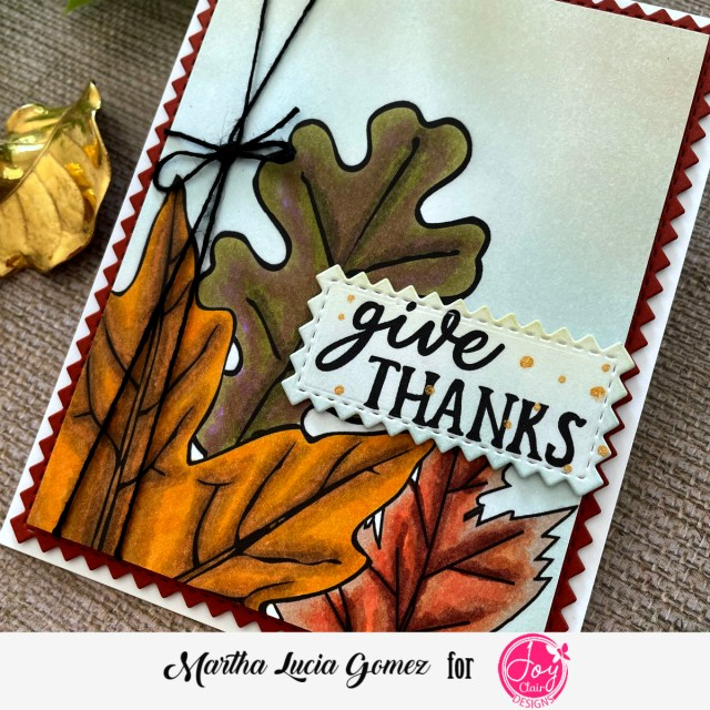 Fall Card by Martha Lucia