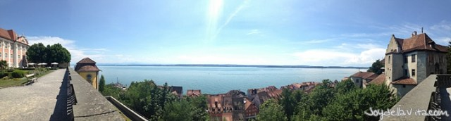 View from the New Castle Meersburg