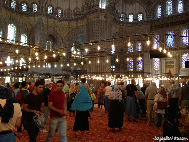 Blue Mosque (Sultan Ahmed Mosque) in Istanbul