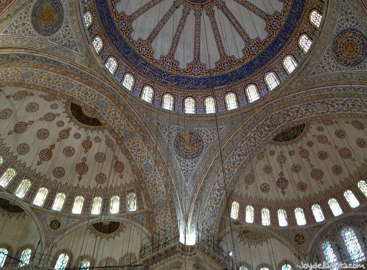 Visit the Blue Mosque (Sultan Ahmed Mosque) in Istanbul for free
