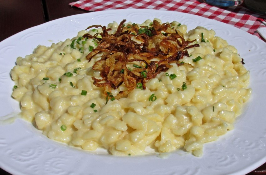 Allgäu Kässpätzle German Recipe