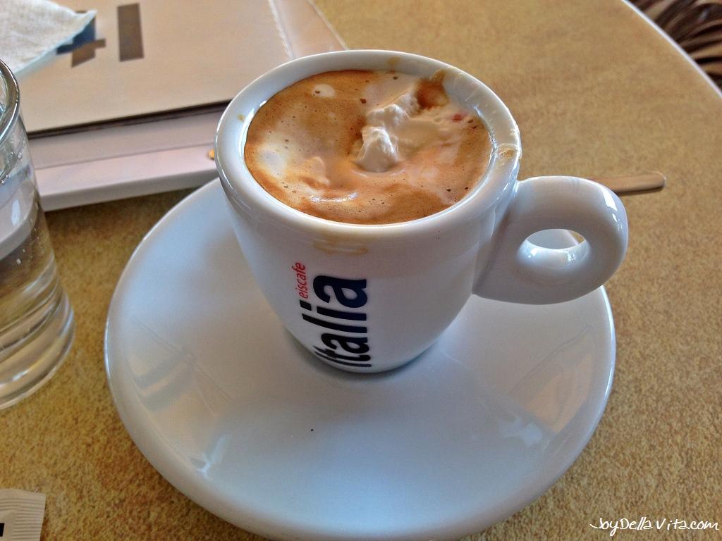 Espresso at Eiscafe Italia Friedrichshafen