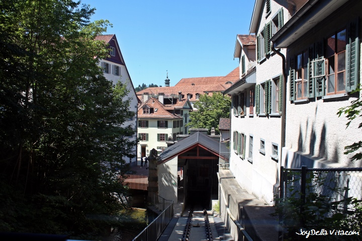 View from Mühleggbahn on St. Gallen