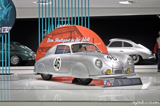 Porsche 356 at Porsche Museum Stuttgart