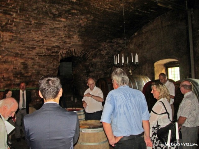 Tour through the historic cellars of the State Winery Meersburg