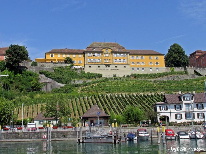 State Winery in Meersburg overlooking Lake Constance