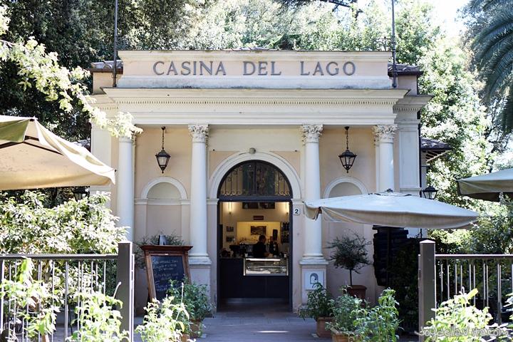 Casina del Lago, Villa Borghese