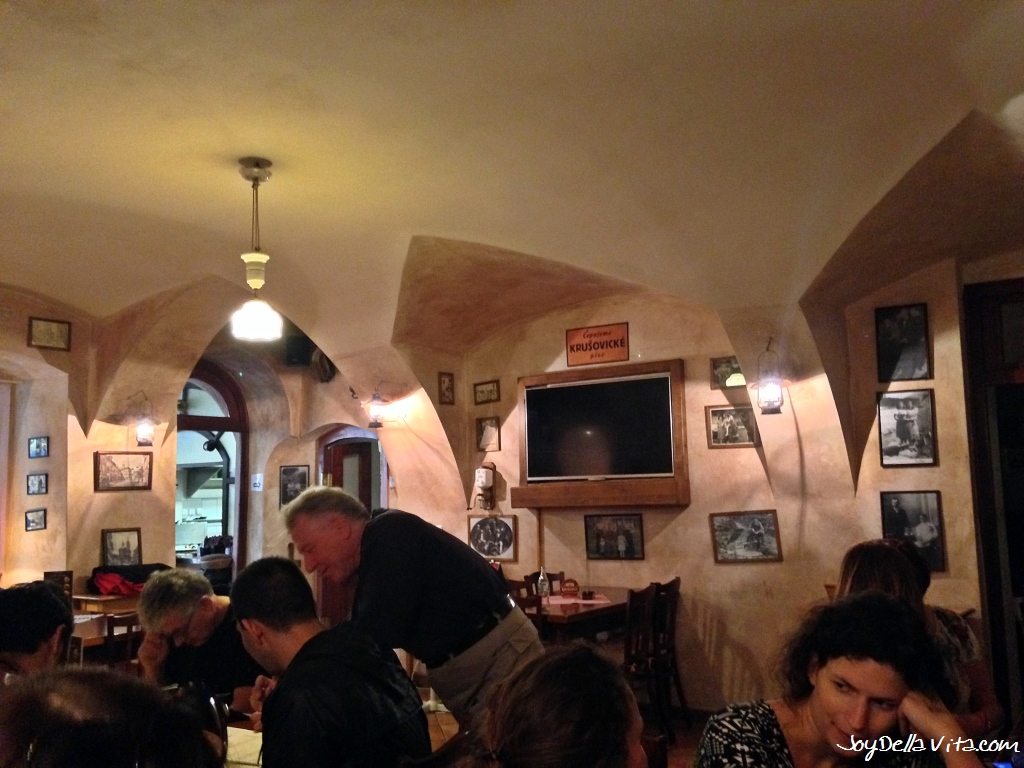 Restaurant U MLYNAREin Prague