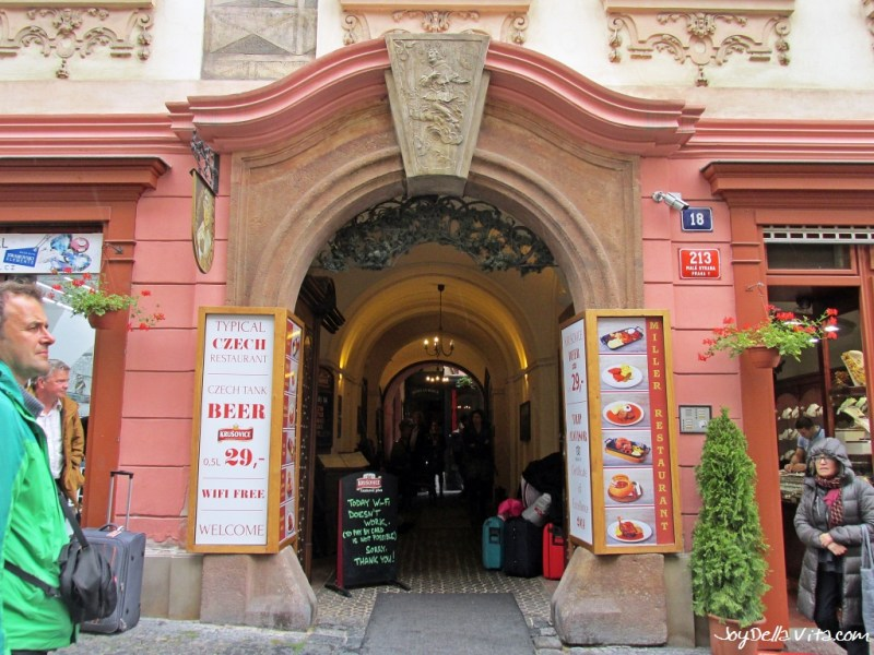 Restaurant U MLYNÁŘE in Prague