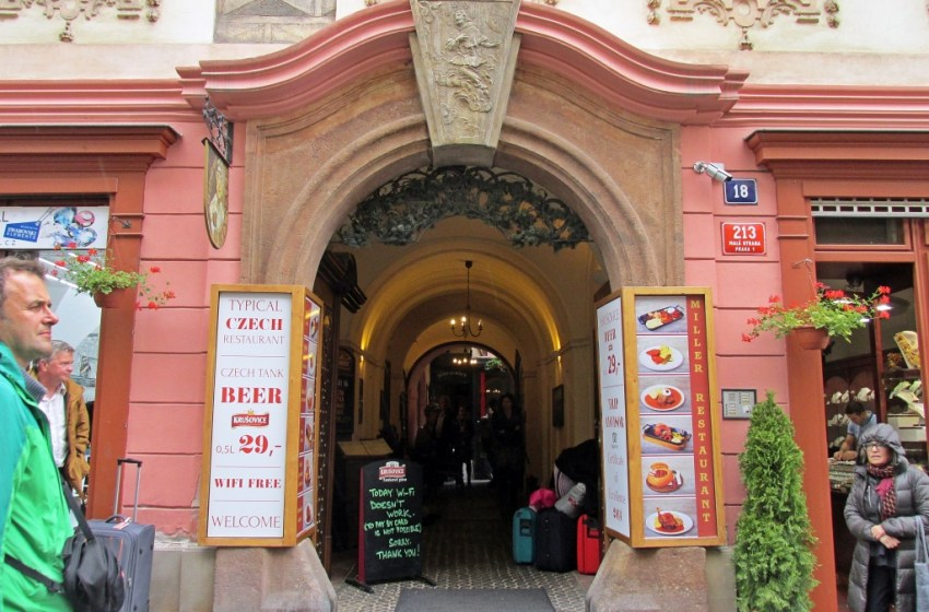 Restaurant U MLYNARE in Prague