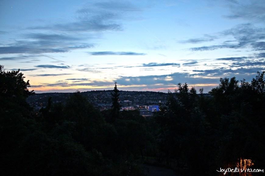 Hello Stuttgart City, as seen from Uhlandshöhe