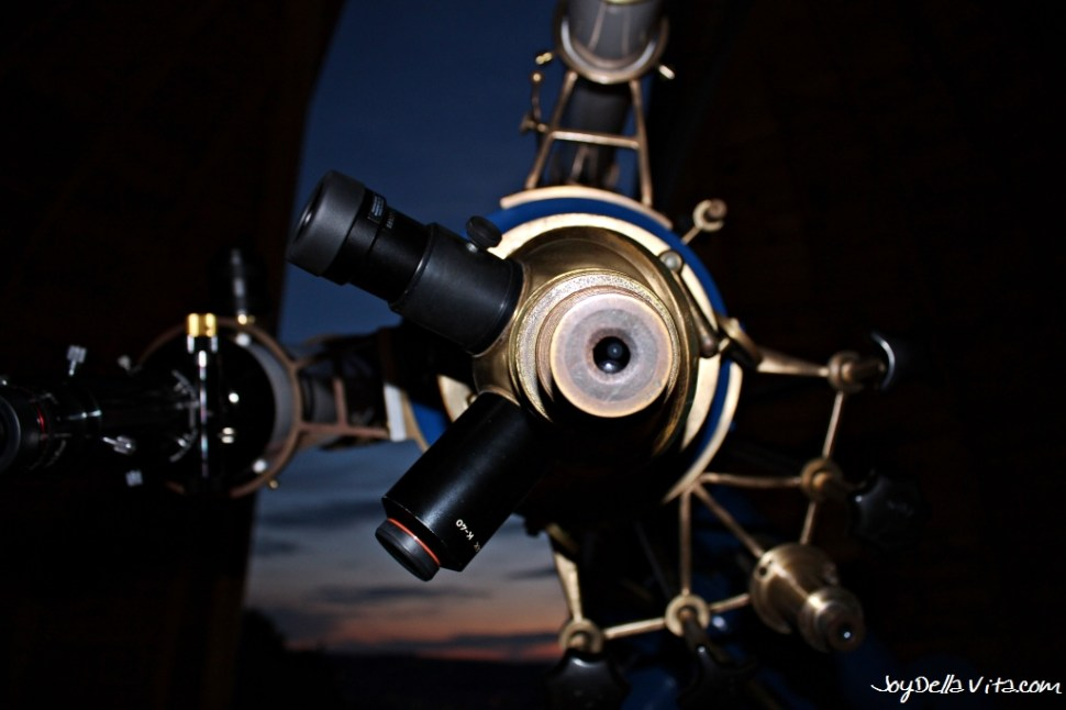 Watching Planets and Stars at Stuttgart Observatory