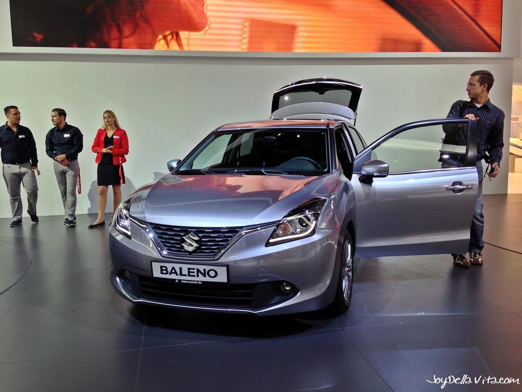 6 Roadtrip Car Of Frankfurt Motor Show 2015 Suzuki Baleno