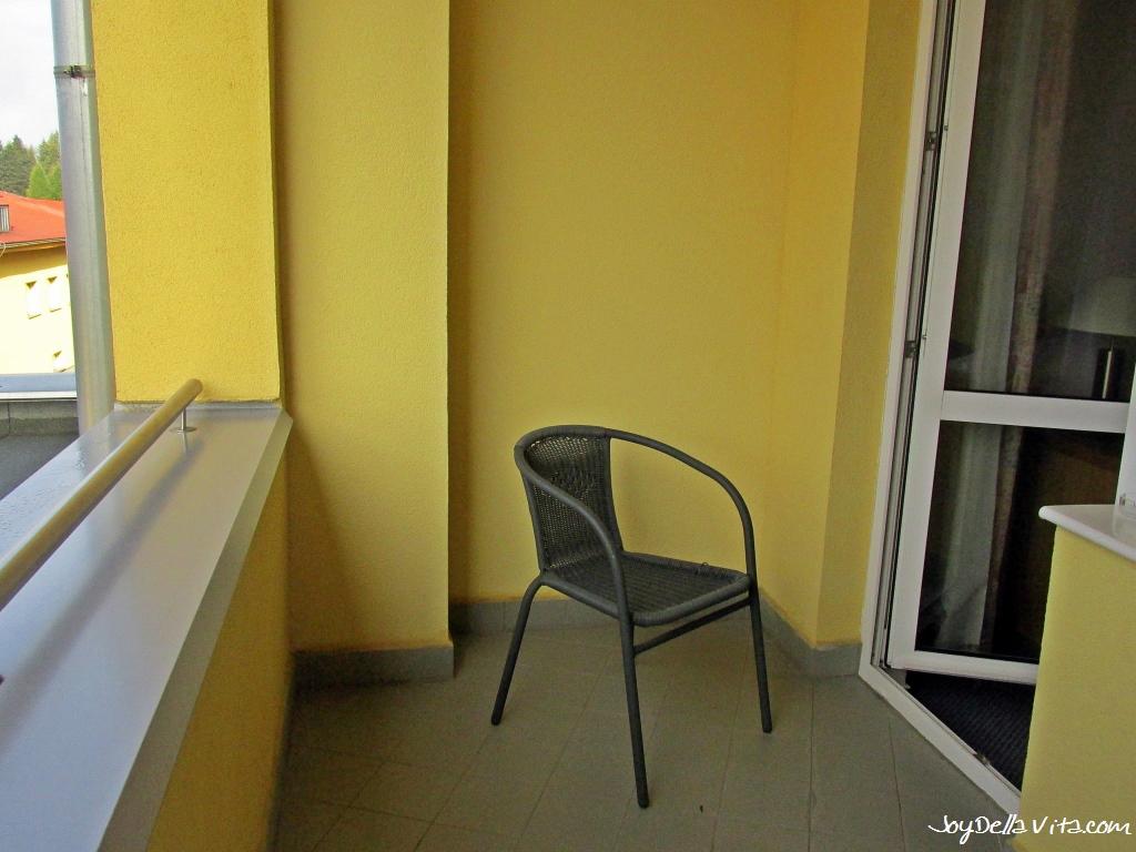 Balcony at Wellness Hotel Frymburk