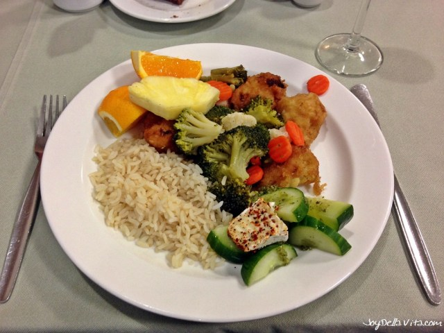 Buffet for Dinner at Wellness Hotel Frymburk