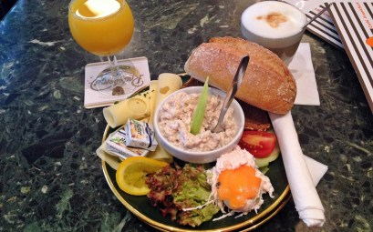 """Ginnheim"" Breakfast at Cafe Karin Frankfurt"