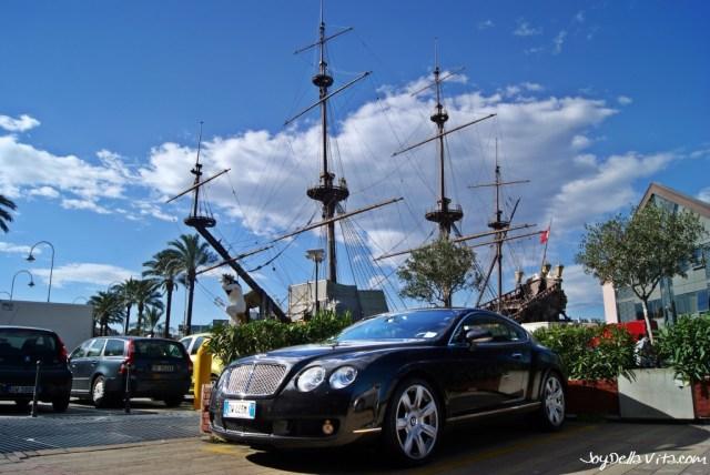 Bentley at Porto Antico