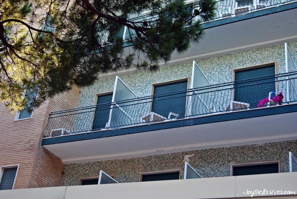 Hotel Mayola in San Bartolomeo al Mare, Liguria, Italy by Travelblog JoyDellaVita
