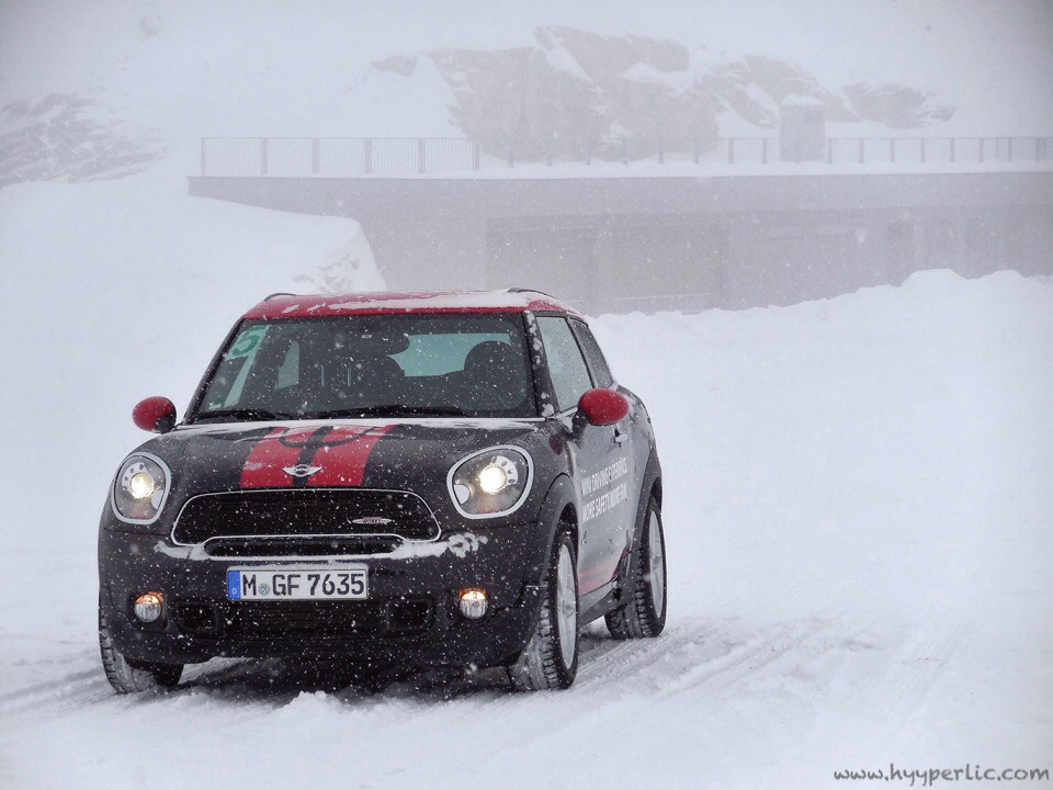 MINI Driving Experience Winter Action Soelden Tirol JOY DELLA VITA TRAVELBLOG