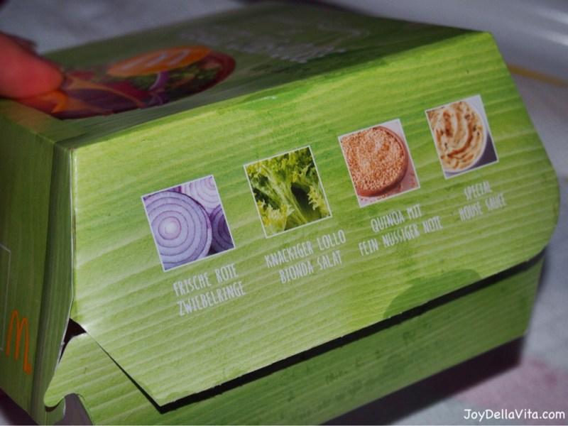 Veggie Clubhouse Burger McDonalds Germany