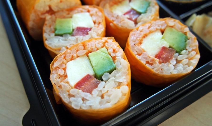 Vegetarian No Sushi by 'Kreative Reisrollen' Tettnang