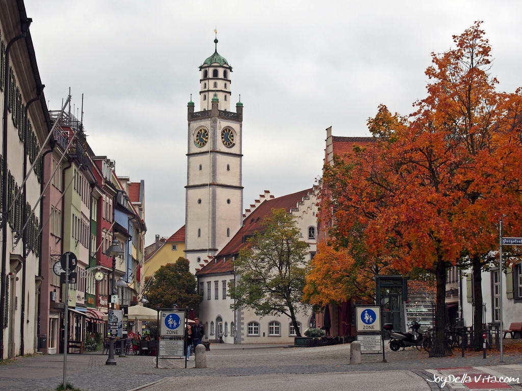 Ravensburg, the City of Towers and Gates in southern Germany