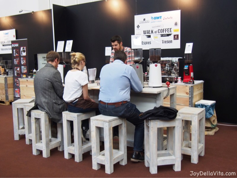 """Walk of Coffee"" at eat&Style Stuttgart 2015"