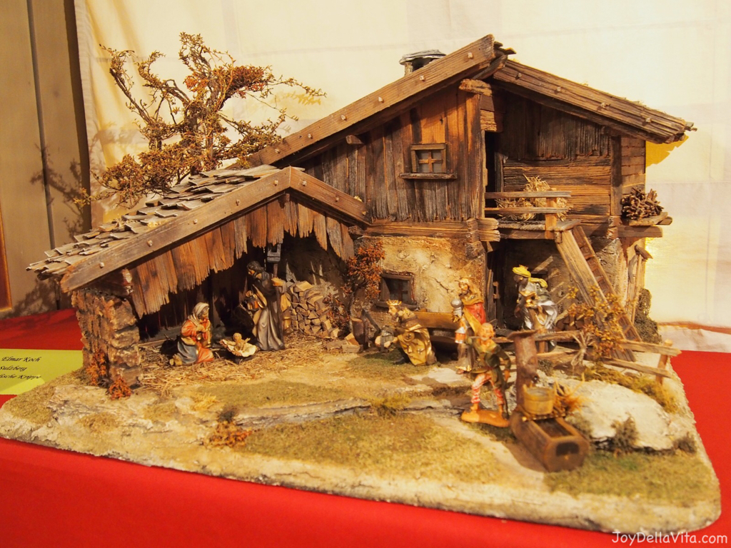 Christmas Crib Exhibition at the New Castle Tettnang