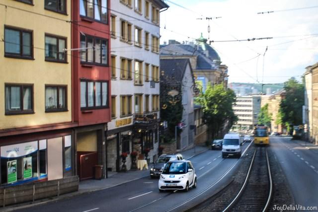 Smart Carsharing with Car2Go--  smart car2go Stuttgart Travel Blog JoyDellaVita