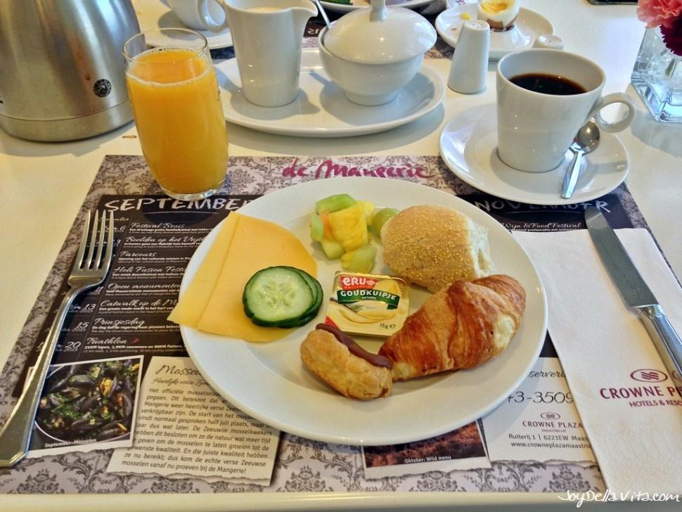 Breakfast Crowne Plaza Maastricht