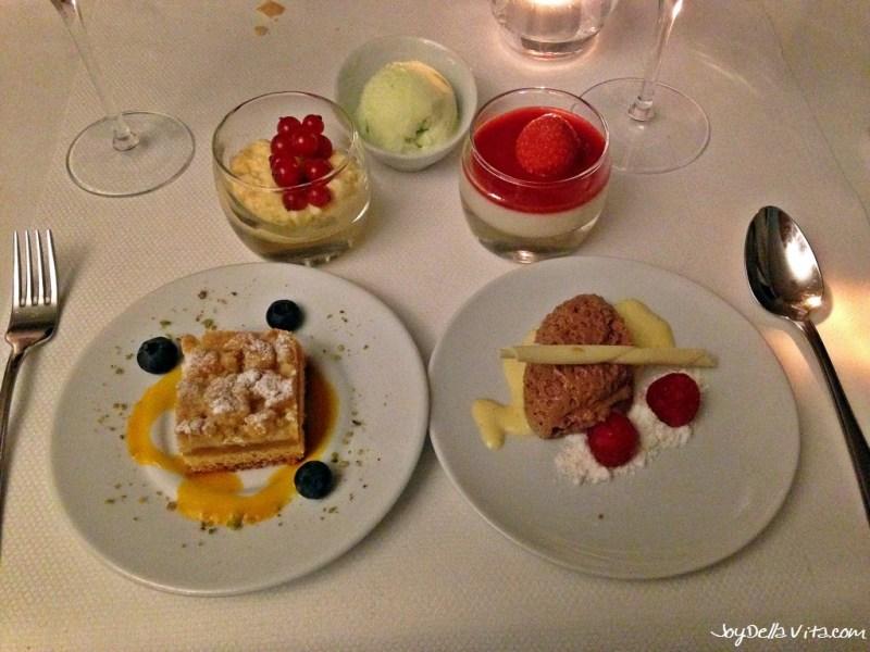 Variation of local Desserts