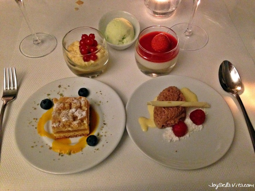 Variation of local Desserts