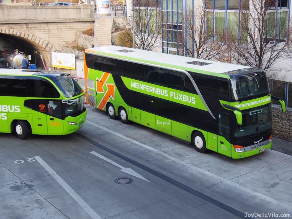 Traveling to Munich with MeinFernbus /FlixBus