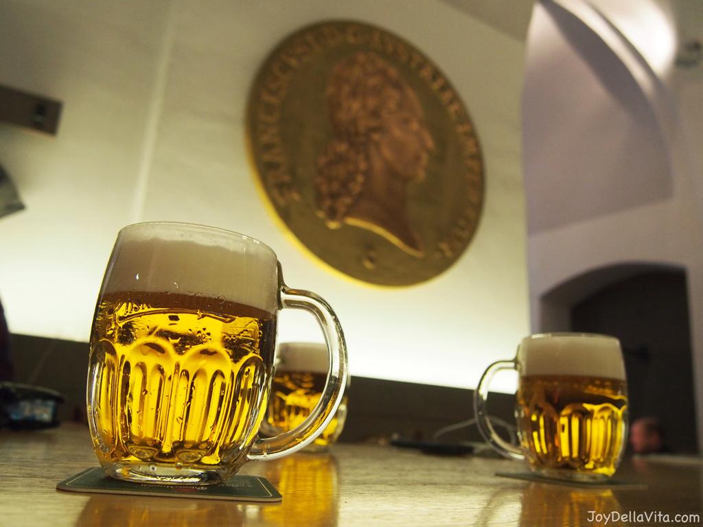 Pilsner Urquell Restaurace Mincovna Prague