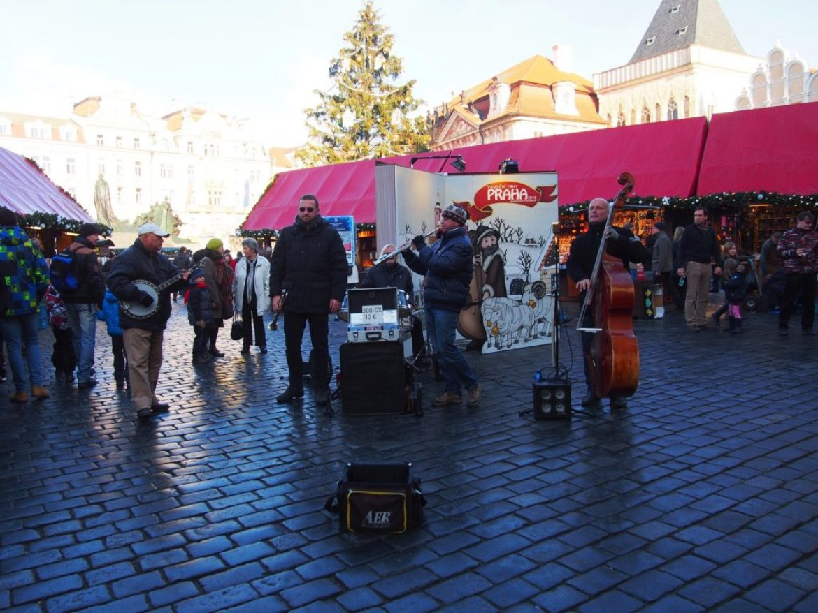 Live Music at the Prague Christmas Market