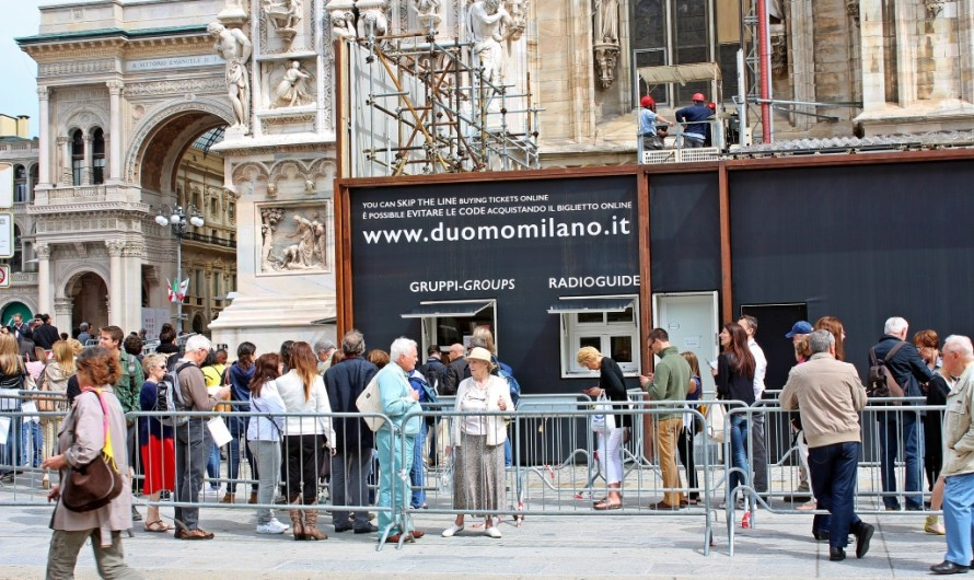 Where to buy your Duomo di Milano Tickets