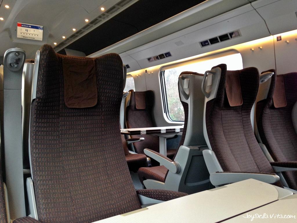 Frecciargento Zurich - Milan SECOND Class
