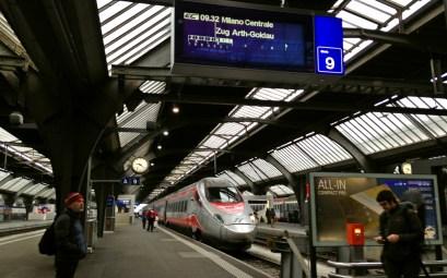 Frecciargento High Speed Train to Milan, from Zurich