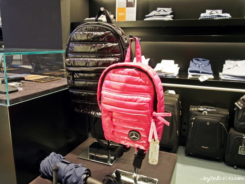 Mercedes-Benz Lifestyle Collection at Mercedes me Store Milan inside Galleria Vittorio Emanuele II
