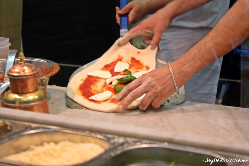 Pizza Margherita Milan EXPO 2015 JoyDellaVita