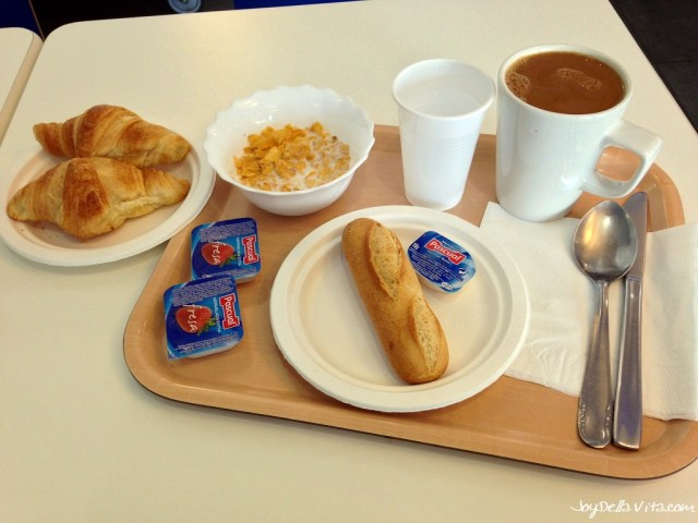 Breakfast at ibis Budget Hotel Malaga