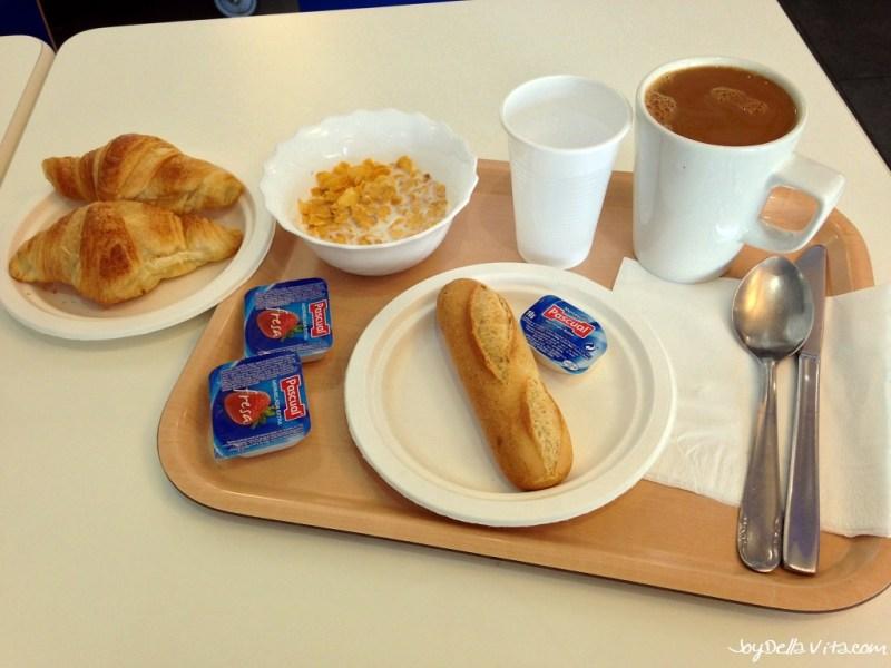 Breakfast at ibis Budget Hotel Malaga