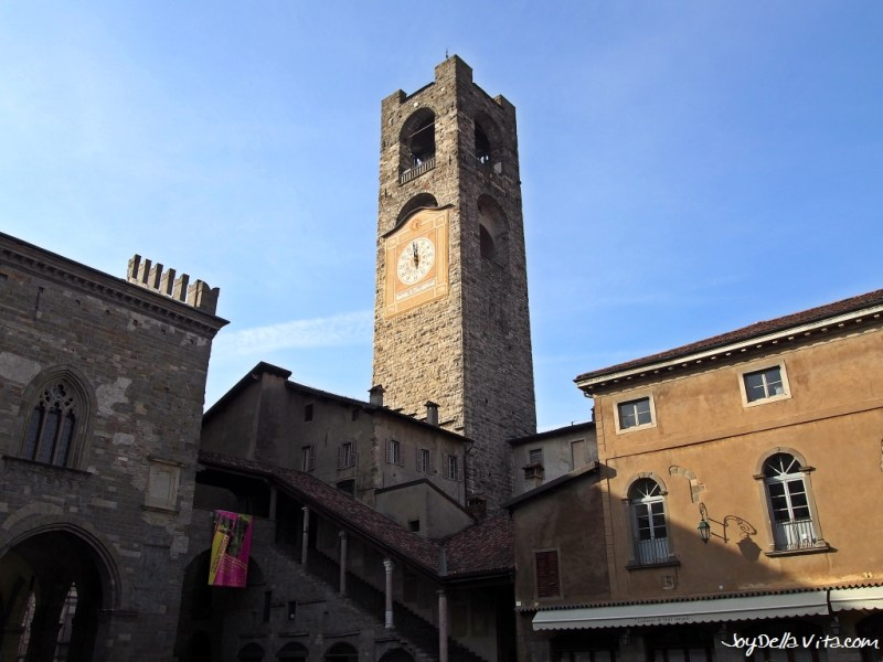 the Civic Tower Campanone Bergamo