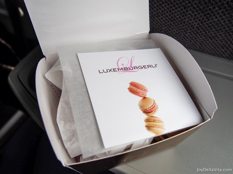 Luxemburgerli Macarons by Sprüngli Zurich