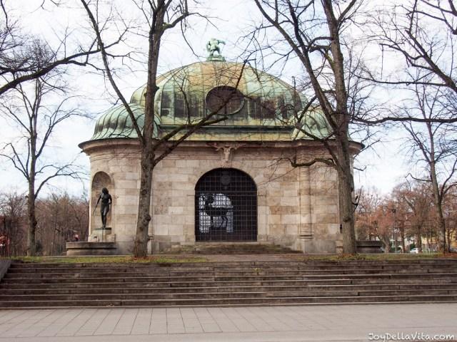 Nymphenburg Palace Garden in Munich