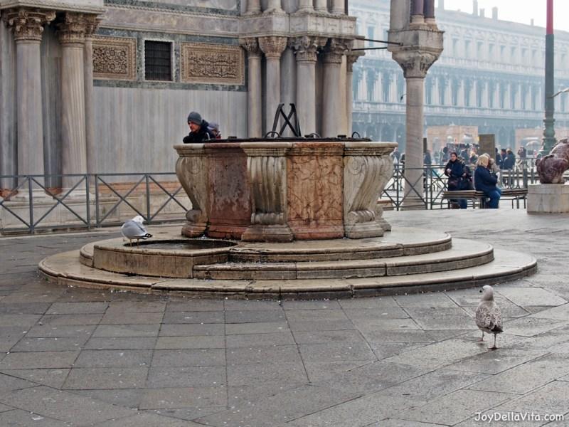 Saint Mark's Square in Venice in January