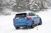 Volvo XC90 T8 Twin Engine Winter Drive Roadtrip